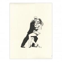Lithographie Zombillénium, Tango