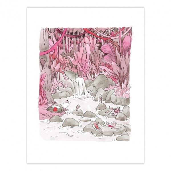 Art Print Pucelle, Le Paradis - Florence Dupré la Tour