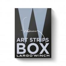 Largo Winch Art Strips Box : crayonnés