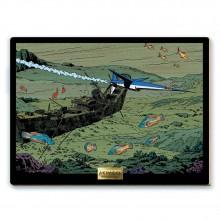 Panel painting - L'Espadon submersible !