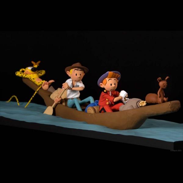 Figurine Fariboles Spirou et Fantasio, Retour de Palombie