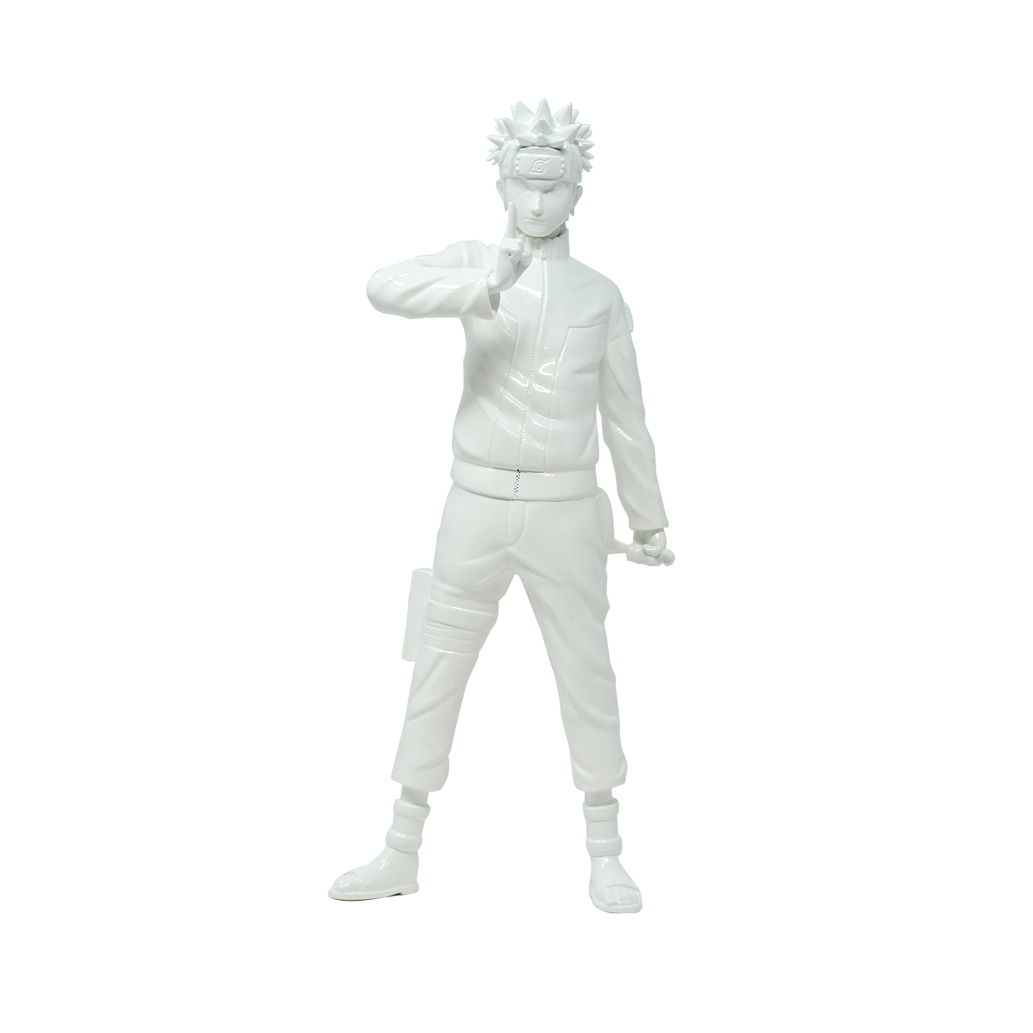Statue Naruto - The Will of Fire - Blanc