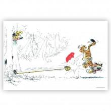 Marsupilami et Tigre