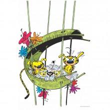 Marsupilami dans son nid