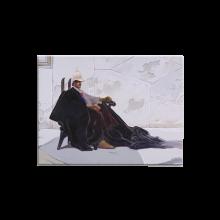 Bois laminé Moebius, Le Major au fauteuil