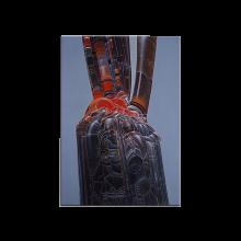 Moebius wood panel, Abstrait, Jonction