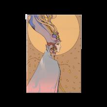 Bois laminé Moebius, Starwatcher Moon