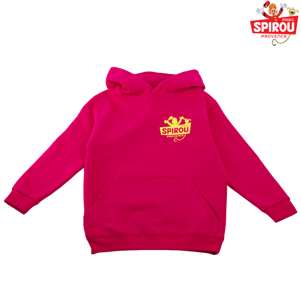 Sweat à Capuche enfant - Marsupilami Rose 7/8 ans