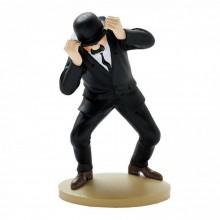 Figurine Tintin, Dupond et son chapeau