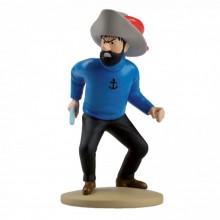 Figurine Tintin, Haddock en Hadoque
