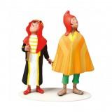 Figurine Tintin, Abdallah & Zorrino Le musée Imaginaire