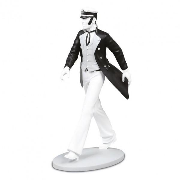 Figurine en résine Corto Maltese - N&B