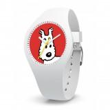 Montre Tintin & Co Milou Blanc (S)