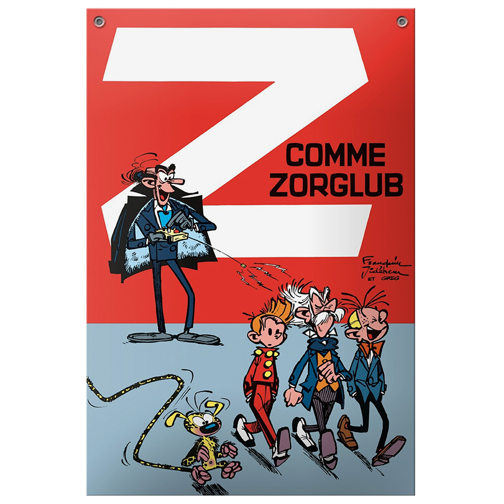 PLAQUE METAL EMAILLEE - ZORGLUB