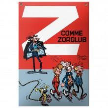 Enamel plate Z is for Zorglub cover