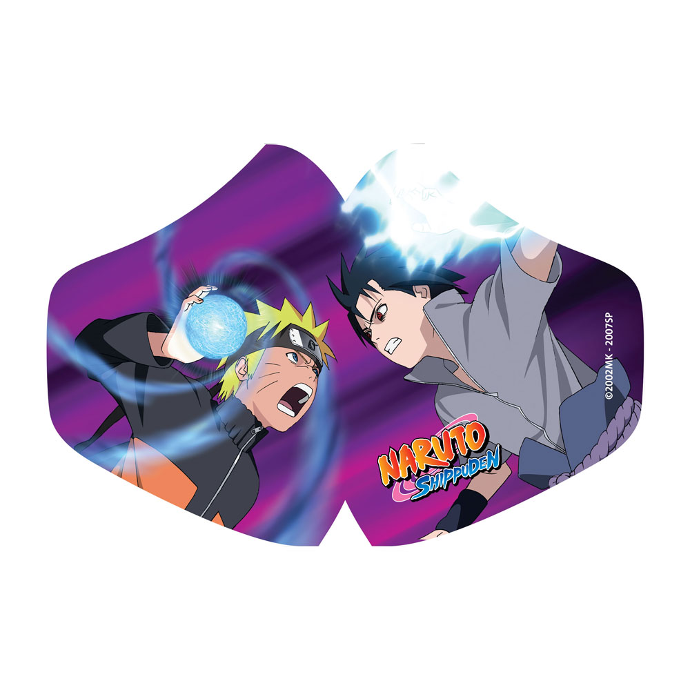 Masque réutilisable: Naruto Vs Sasuke