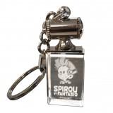 Porte-clefs lumineux Spirou