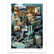 Affiche Trolls de Troy - Signée par Jean-Louis Mourier