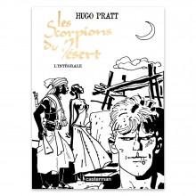 Deluxe album Pratt Scorpions du désert (B&W edition) (french Edition)