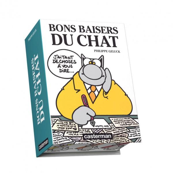 BON BAISERS DU CHAT-COFFRET 100 GAGS