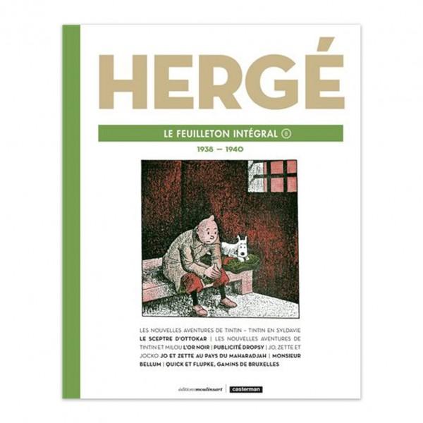 Album Hergé le feuilleton intégral (1938-1940) (french Edition)