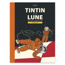 Double Album Tintin and the Moon (french Edition)