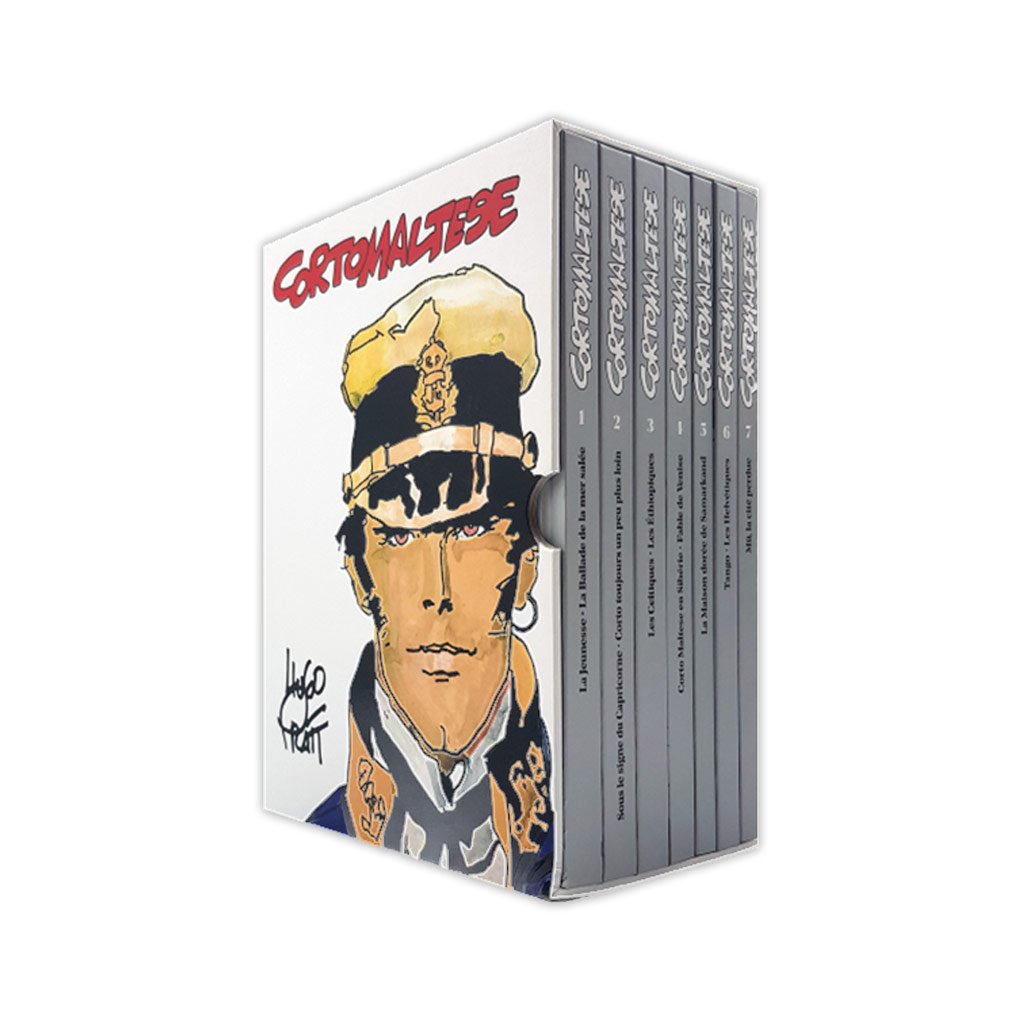 COFFRET COULEURS INTEGRALE CORTO MALTESE (2020)