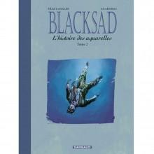 Album Blacksad Histoire des aquarelles vol. 2 (french Edition)
