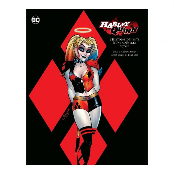 Album Tout l'art de Harley Quinn (french Edition)