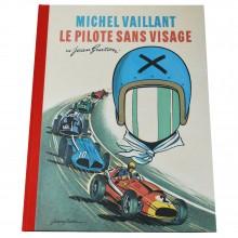 Deluxe album Michel Vaillent Le pilote sans visage (french Edition)