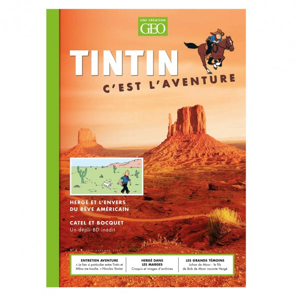 GÉO TINTIN, C'EST L'AVENTURE N. 4 - L'Amérique