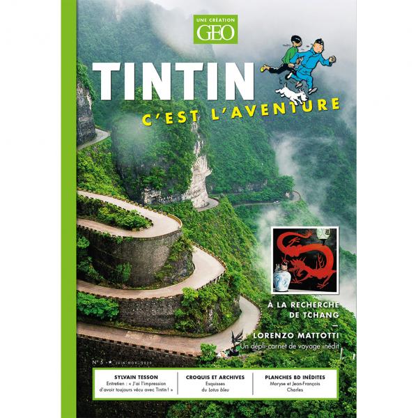 Magazine Géo Tintin vol.5 China (french Edition)