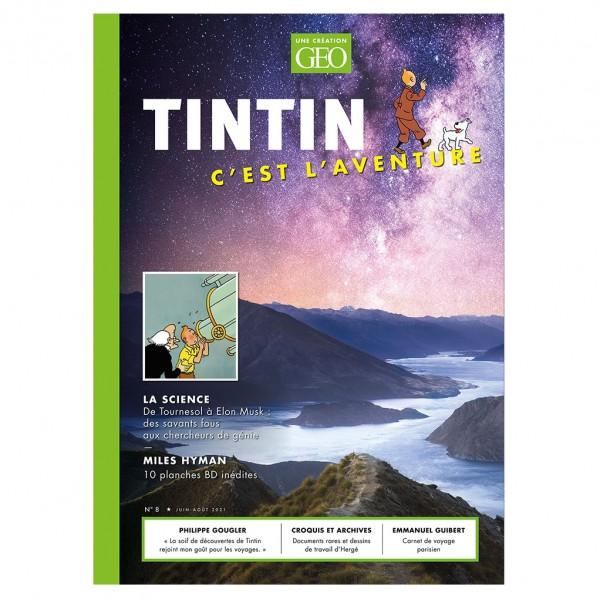 Magazine Geo Tintin C'est l'aventure n°8 : Science