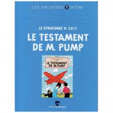 Book Tintin's archives Le testament de M. Pump (french Edition)