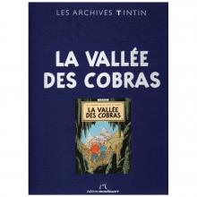 Livre les archives Tintin La vallée des cobras