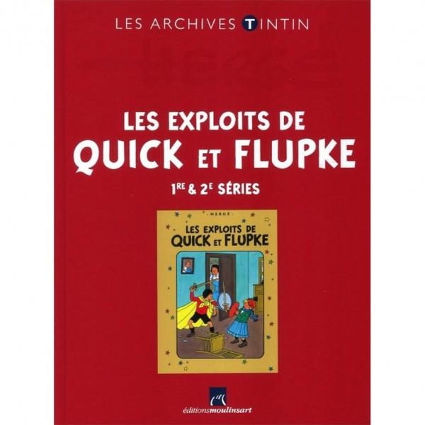 Les Exploits de Quick et Flupke, 1ère et 2e séries
