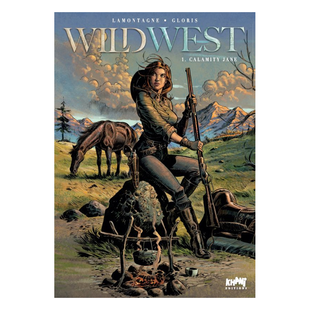 Wild West - Tome 1, Calamity Jane - Tirage de Luxe