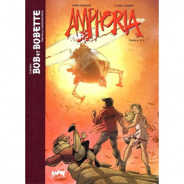 Tirage de tête, Bob & Bobette, Amphoria, volume 4 à 6