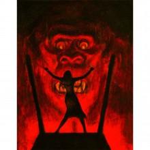 Tirage de luxe King Kong par Christophe Blain