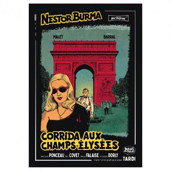 Deluxe album Nestor Burma 12 Corrida aux champs Elysées (french Edition)