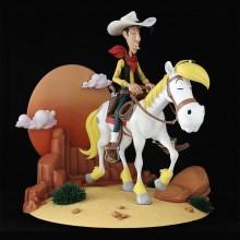 Figurine Lucky Luke et Jolly Jumper 75 ans