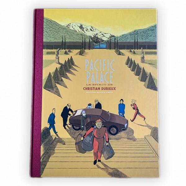 Deluxe edition Pacific Palace, le Spirou de Christian Durieux