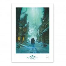 Poster Long John Silver, Le Village Lauffray
