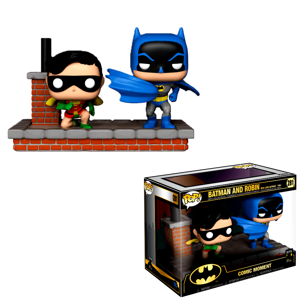 POP! Comic Moment - Batman 80 ans - Batman et Robin - secondaire-2