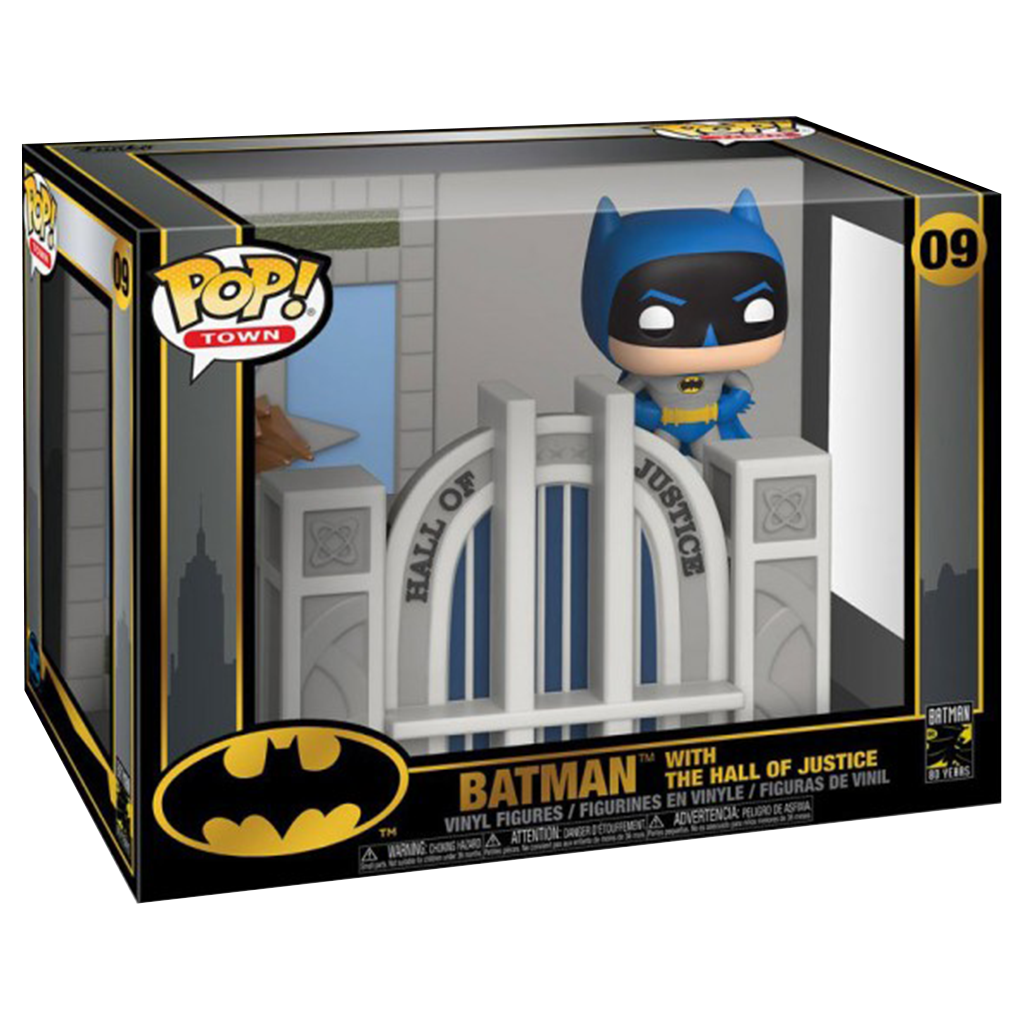 POP! Town - Batman 80 ans - Batman et la Cour de Justice - secondaire-1