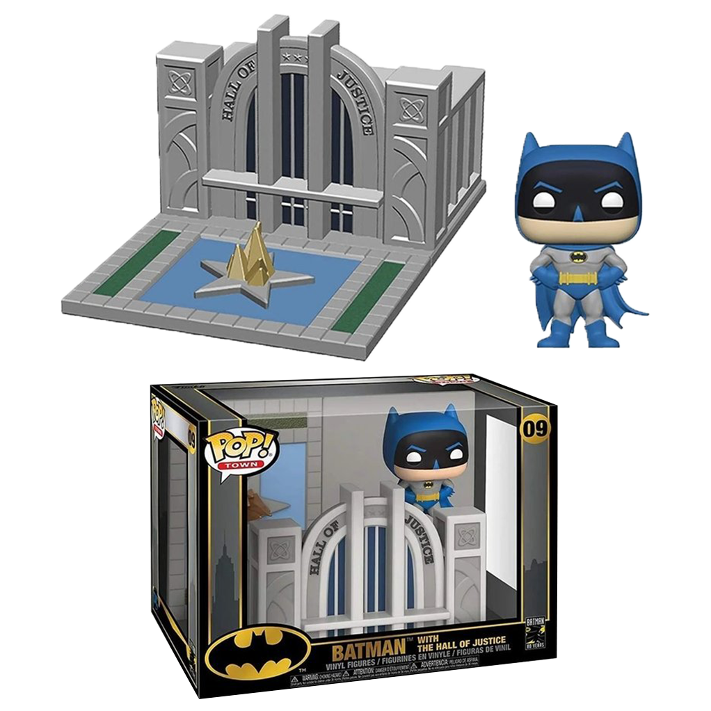 POP! Town - Batman 80 ans - Batman et la Cour de Justice - secondaire-2