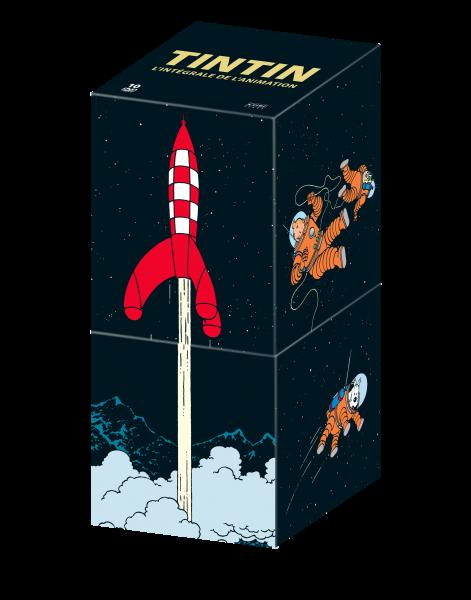 Tintin : Coffret 10 DVD - 2016