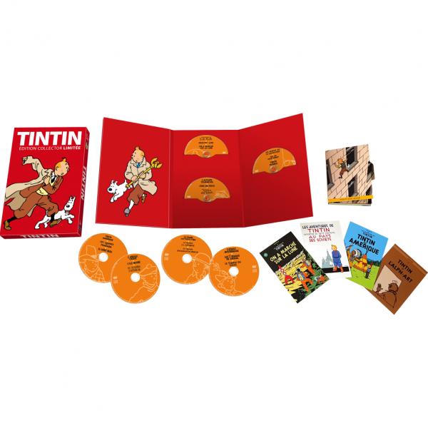 Tintin - Coffret Intégrale Collector Tintin édition limitée