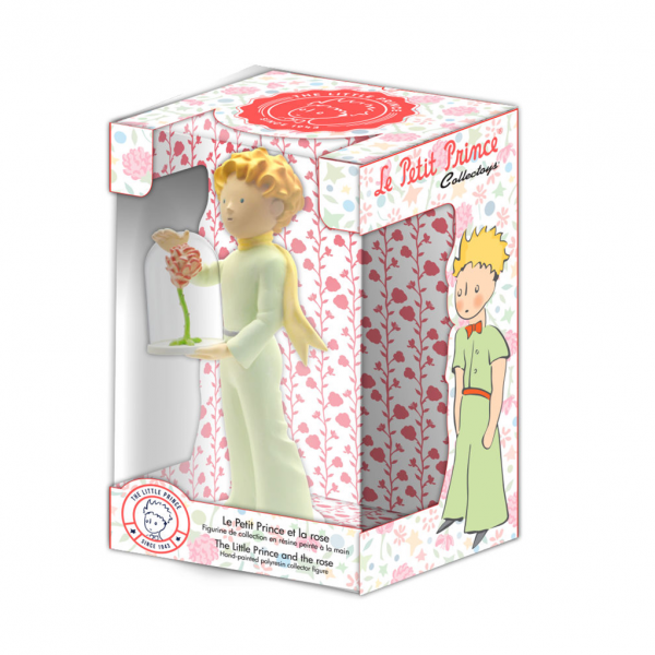 Figurine Collectoys Le Petit Prince et la rose