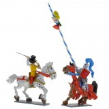 Figurine - La Flèche Noire Johan et Pirlouit - Pixi
